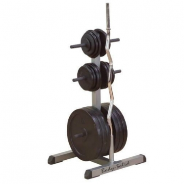 Body Solid Standaard weight tree and bar rack (GSWT)