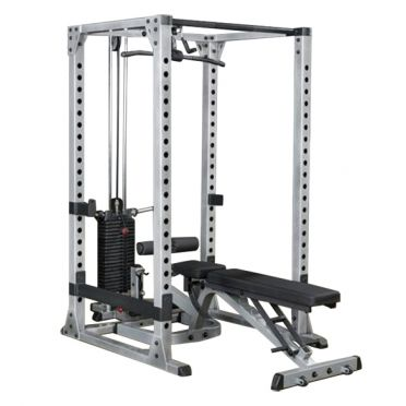 Body-Solid Pro Power rack Full Options