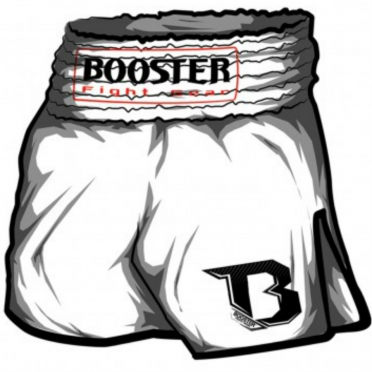 Booster TBS thaiboksbroek wit
