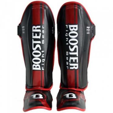 Booster BSG V3 Pro Range scheenbeschermers zwart/rood