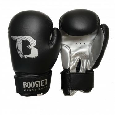 Booster Kids DUO bokshandschoenen zwart/zilver
