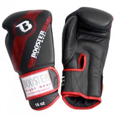 Booster Pro Range BGL V3 leren bokshandschoenen rood/zwart