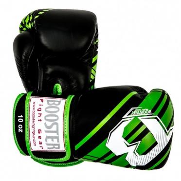 Booster Pro Range BGL V4 leren bokshandschoenen zwart/groen