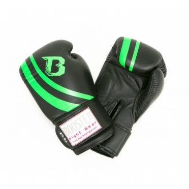Booster Pro Range V2 leren bokshandschoenen zwart/groen