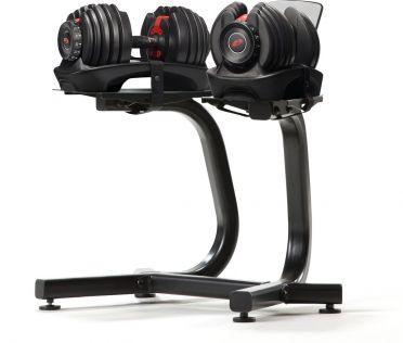 Bowflex 1090i S selecttech haltersysteem 40,8 kg pair + standaard