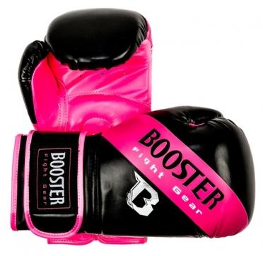 Booster BT Sparring bokshandschoenen roze gestreept