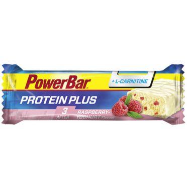 Powerbar Protein plus L-Carnitine bar framboos yoghurt 30 x 35 gram