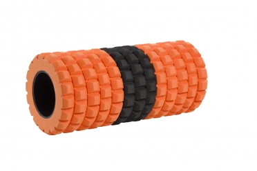 Casall HIT Tube roll zwart/oranje