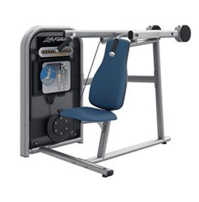 LifeFitness krachtstation Circuit Series Shoulder Press Gebruikt