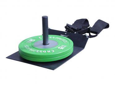 Crossmaxx Compact Sled met harnas zwart