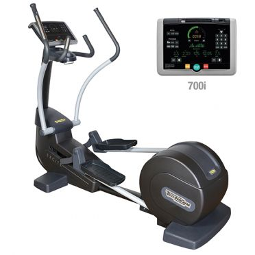TechnoGym crosstrainer Synchro Excite+ 700i zwart gebruikt