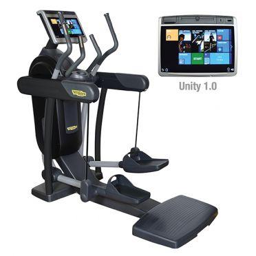TechnoGym crosstrainer Excite+ Vario 700 Unity zwart gebruikt