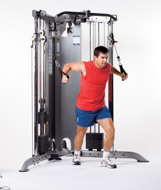 Tuff Stuff krachtstation CXT-100 Corner Multi Functional Cross Trainer