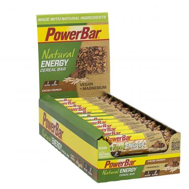 Powerbar Natural energy bar cacao crunch 24 x 40 gram