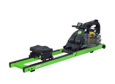 First Degree roeitrainer Fluid Rower Neon Hybrid Rower Green