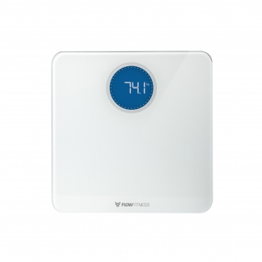 Flow Fitness Bluetooth Smart Scale White BS20w