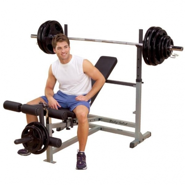 Body Solid Power Centre Combo bench GDIB46L