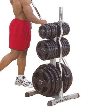 Body Solid Olympic weight tree and bar rack (GOWT)