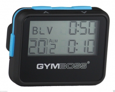 Gymboss Interval Trainer Special Black