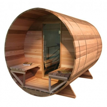 Health Vision Barrel Sauna 240 cm