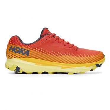 Hoka One One Torrent 2 hardloopschoenen rood/geel heren