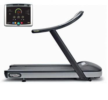 TechnoGym Loopband jog now Excite+ 500i zwart gebruikt