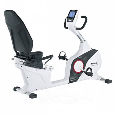 Kettler ligfiets Ergometer RE 7 wit showroom