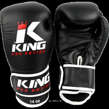 King KPB-3 (kick)bokshandschoenen pro boxing zwart