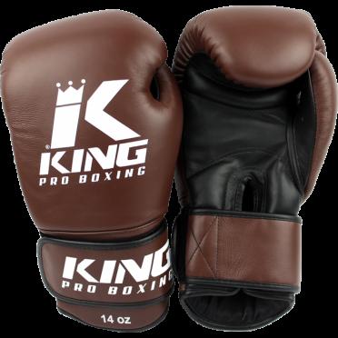King KPB-4 (kick)bokshandschoenen pro boxing bruin