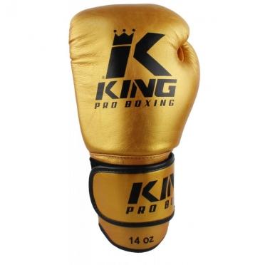 King KPB-5 (kick)bokshandschoenen pro boxing goud