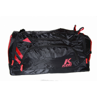 King Sporttas Pro Boxing Bag zwart/rood