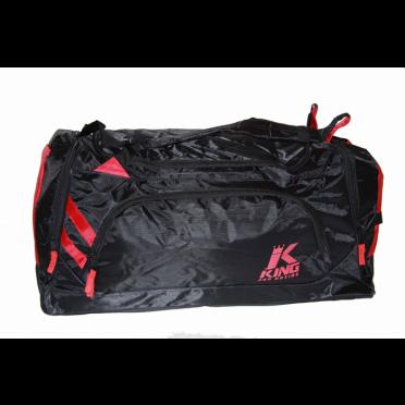 King Sporttas Pro Boxing Bag zwart/rood