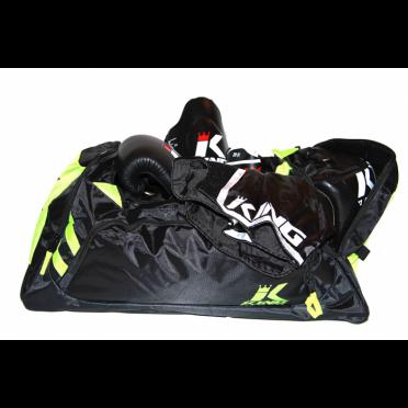 King Sporttas Pro Boxing Bag Zwart/Groen