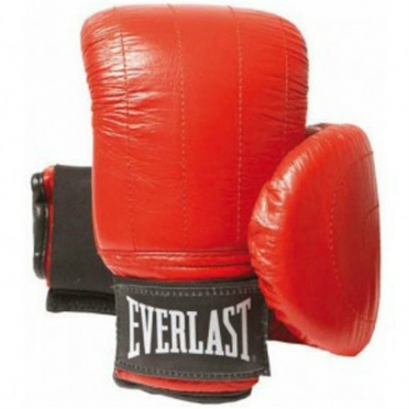Everlast leer Boston Zakhandschoen rood