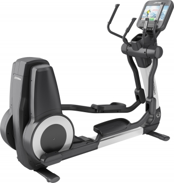 LifeFitness crosstrainer Platinum Club Series Discover SE Diamond White
