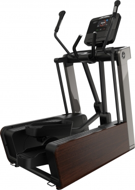 Life Fitness crosstrainer FS6 Adjustable Stride Dark Walnut