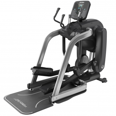 Life Fitness Platinum Club Series Flexstrider Explore Arctic Silver