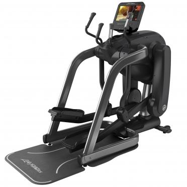 Life Fitness Platinum Club Series Flexstrider Discover SE3 Titanium Storm