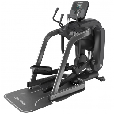 Life Fitness Platinum Club Series Flexstrider Explore Titanium Storm