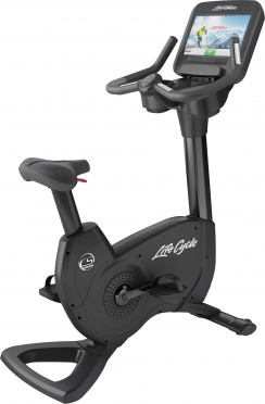 LifeFitness hometrainer Platinum Club Series Discover SE Black Onyx