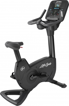 Life Fitness hometrainer Platinum Club Series Explore Black Onyx