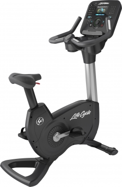 Life Fitness hometrainer Platinum Club Series Explore Arctic Silver