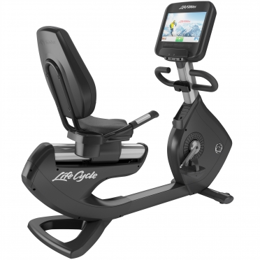 LifeFitness ligfiets Recumbent Bike Platinum Club Series Discover SE WIFI PCSRE