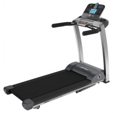 Life Fitness loopband F3 track+ console display