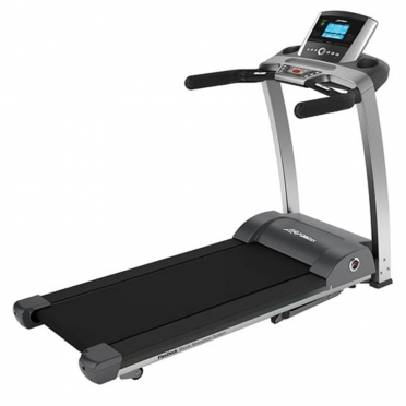 Life Fitness loopband F3 go console display