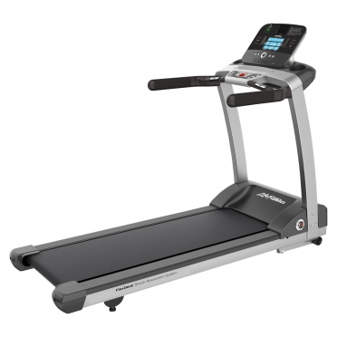 Life Fitness loopband T3 Track+ Console display