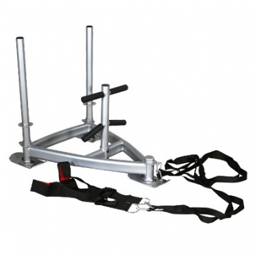 Lifemaxx Power Sled met harnas zilver LMX 1024