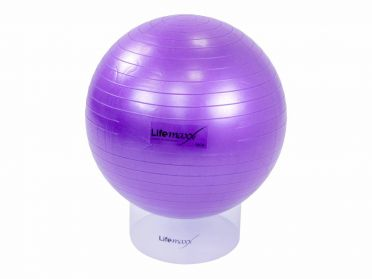 Lifemaxx Gymbal 55 cm paars LMX 1100.55