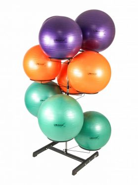Lifemaxx Gymball Rack voor 9 gymballs LMX 1105