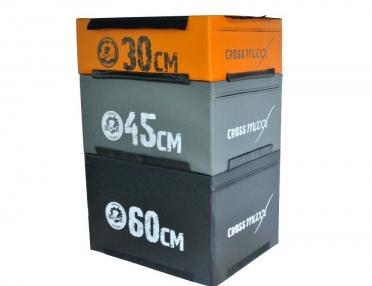 Lifemaxx Crossmaxx Soft Plyo Box Oranje 30 cm